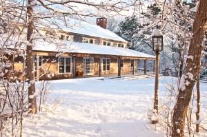 ccc building:snow